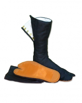 Black Tabi Boots : Long