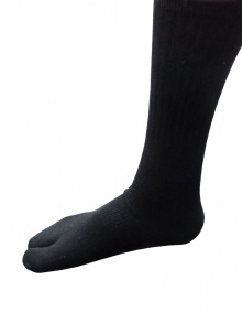 Black Cotton Tabi Socks
