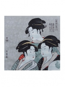 Furoshiki : Three Beauties