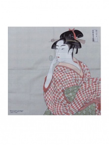 Furoshiki : Woman with Glass Toy